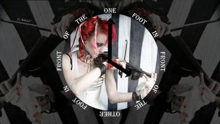 Emilie Autumn FLAG -One Foot- Wallpaper 2