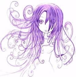 crazy hair by lazy-haruka