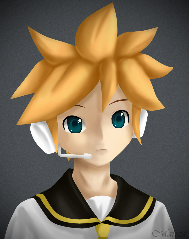 shota boy 3d anime Shota Len by Martza ...