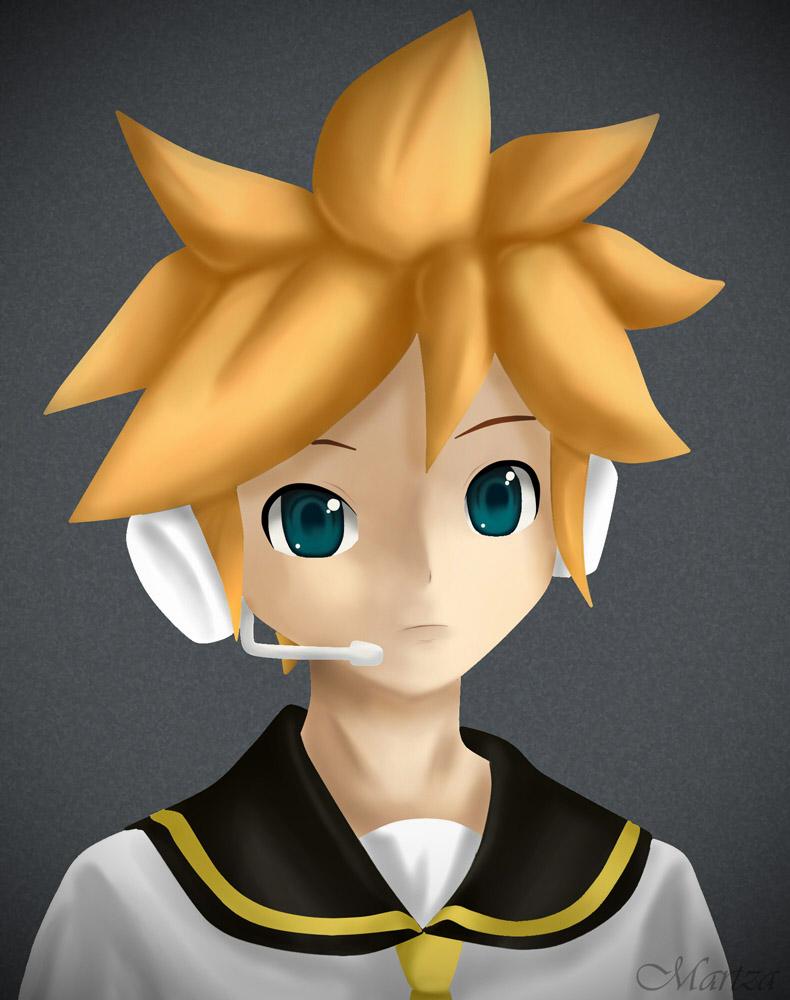 shota boy 3d anime Shota Len by Martza ...