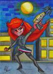 Agent Riley Daring by LizLightningGSD
