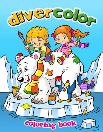 Coloring Book Cover by ZeroCartoon on DeviantArt