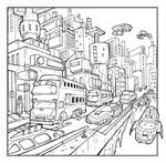 City Panel by ZeroCartoon