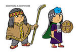 Mapuches Color