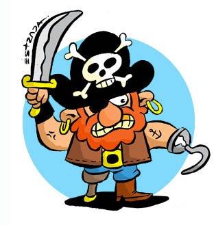 Pirata cojo by ZeroCartoon