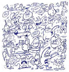 bocetillos bic by ZeroCartoon