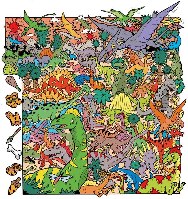Dibujuego Dinosaurios