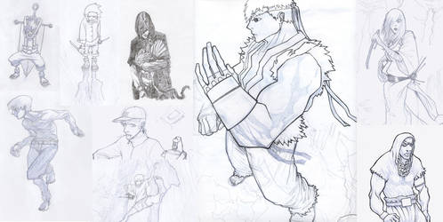 sketches compilation