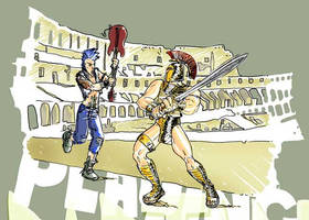 playin' spartan by chkkll