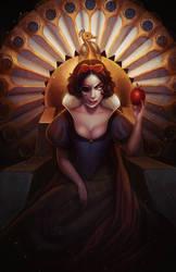 Snow white by Amanda-Kihlstrom