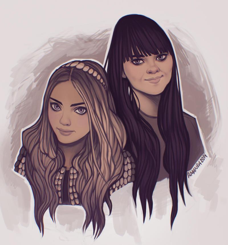 Fan art by Amanda-Kihlstrom