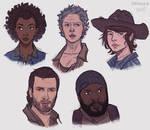 Walking Dead fanart pt. 2