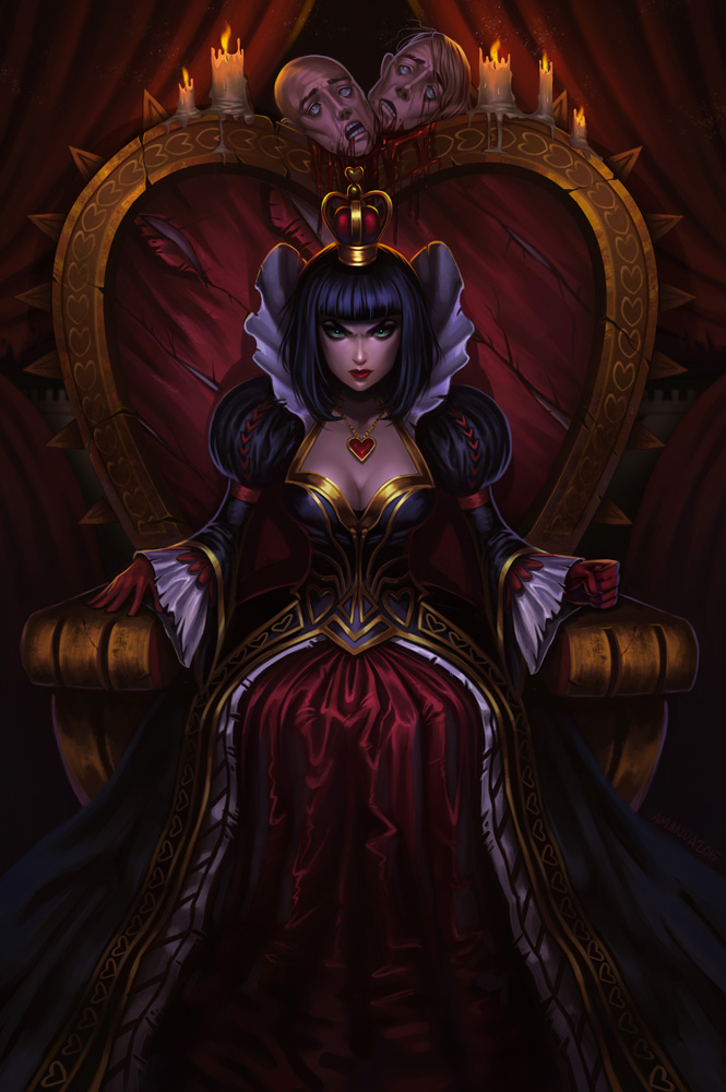 Red Queen by Amanda-Kihlstrom