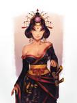 Commission: Bayushi Hanako