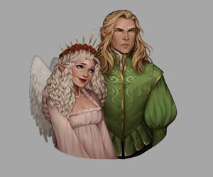 Commission: Tamlin and Aurora