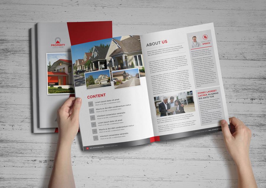 Property Real Estate Brochure Catalog By Jabinhossain On DeviantArt - Real estate brochures templates
