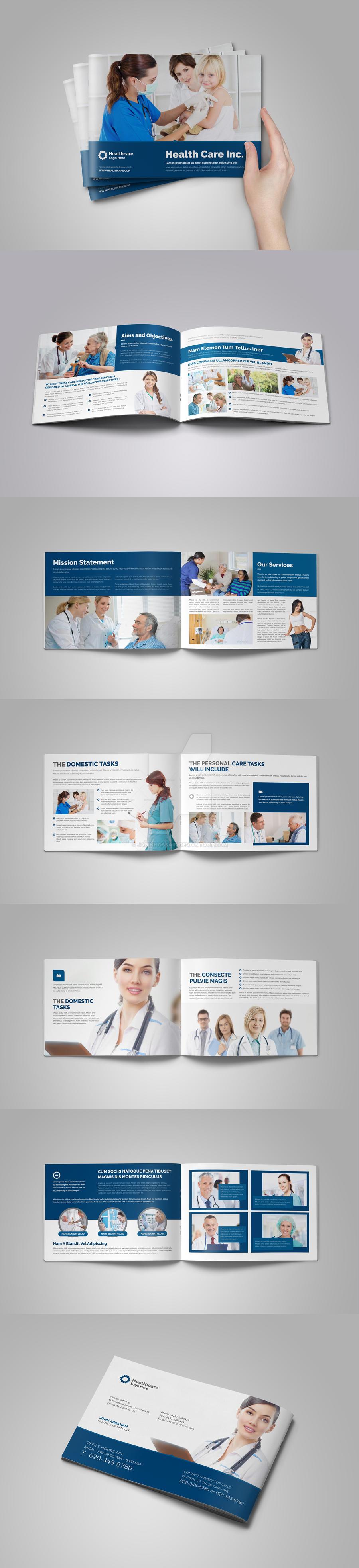 Medical HealthCare Brochure Template