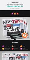 20 Page Newspaper Design