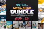 Mega Shop BUNDLE 64+ Templates!