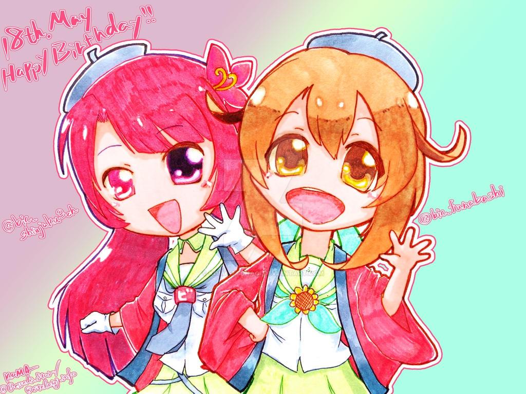 BICQLO and FUNA TAN Personification Anniv by KOMA-Tsunagi