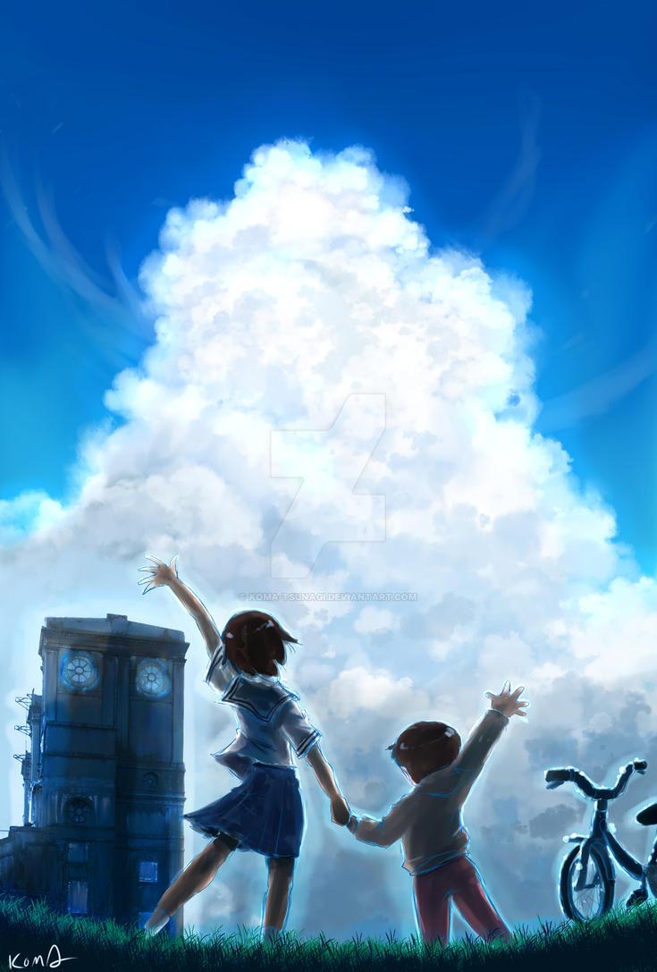 Open your world by KOMA-Tsunagi