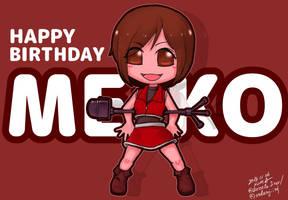 HAPPY BIRTHDAT MEIKO