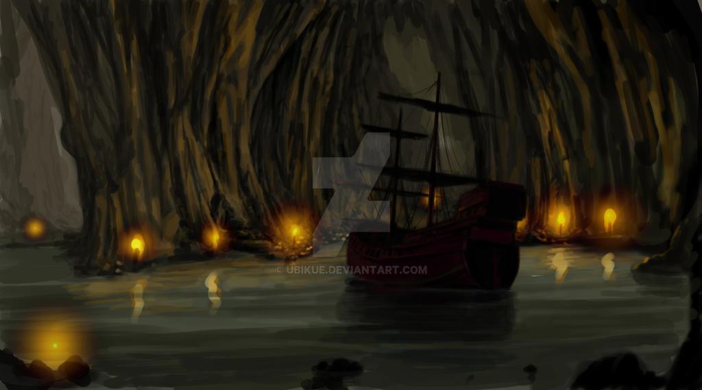 Barco pirata by ubikue