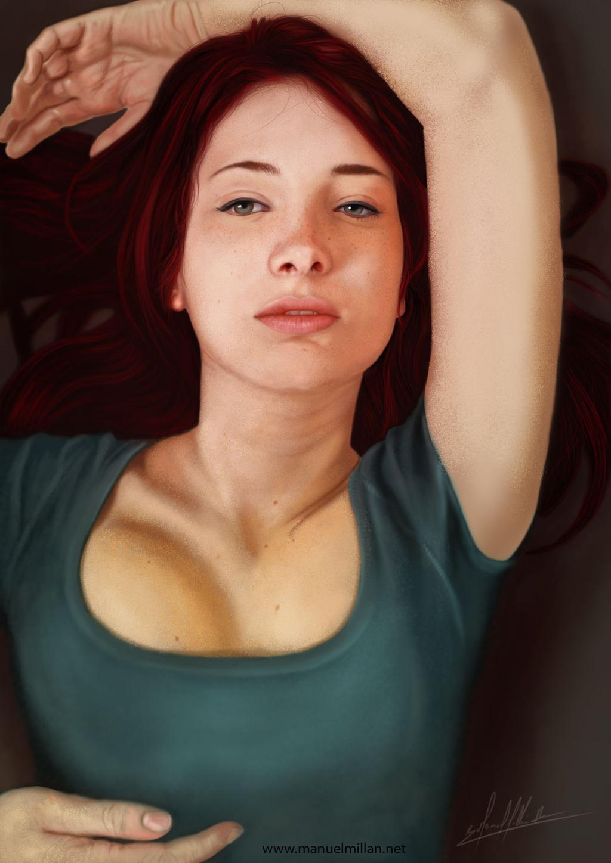 Retrato by ubikue