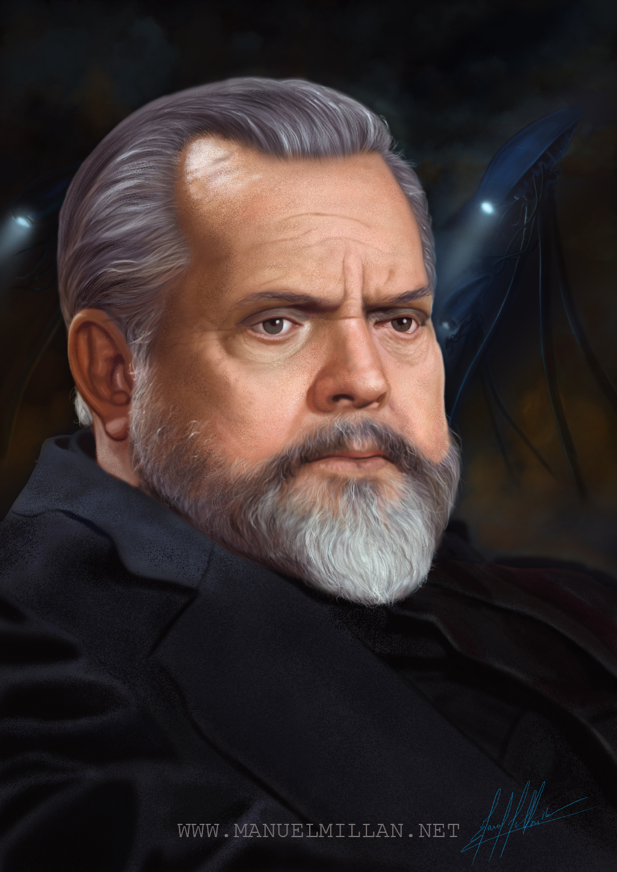 Orson Welles by ubikue
