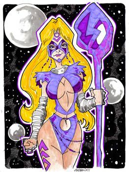 Indigo Lantern Moonstone