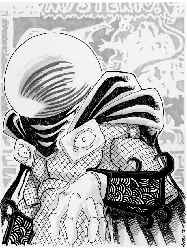 mysterio spiderman coloring pages - photo#19