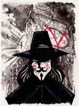 Sketch 065 of 100... V FOR VENDETTA