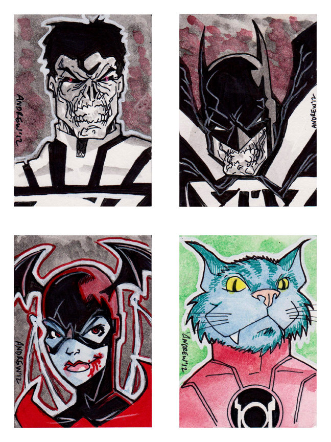 Sketch 073 of 100 SKETCH CARD SET 04 by misfitcorner