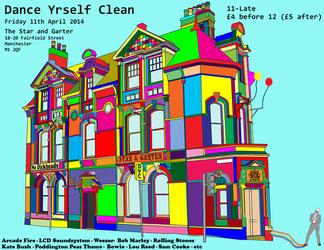 Dance Yrself Clean Poster