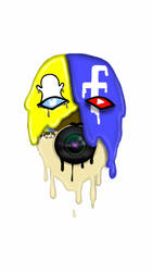 social media mask by lortiz731