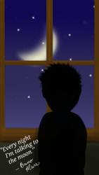 Talking to the moon by lortiz731