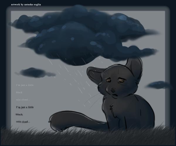 The Little Black Rain Cloud: -Little Black Rain Cloud- By Lachtaube On DeviantART