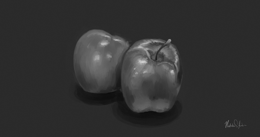 Apples by Lachtaube
