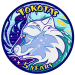 Tokoktas 5th Anniversary Badge by Lachtaube
