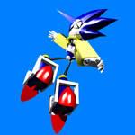Mecha Sonic Pose