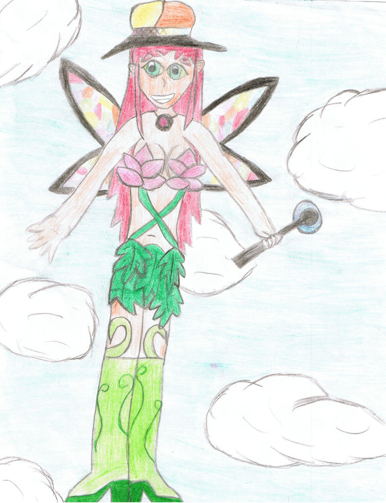 Fairy Starfire by Gothic-Raven-Girl