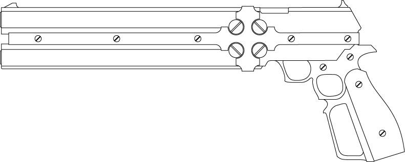 beyond the grave gun by ShadowMachinaGungrave Cerberus Guns