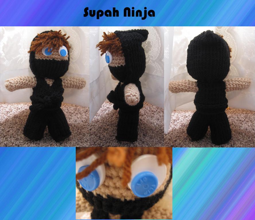 Supah Ninja by catgirlartist