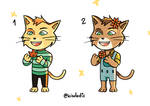 [ADOPTABLES] [OPEN] Autumn and Spring brothers!
