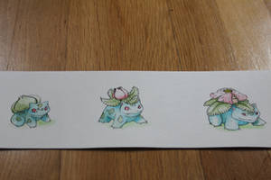 bulbasaur evolution by nadjasimon