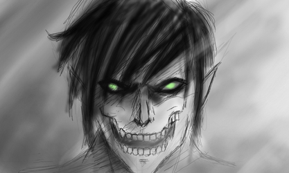 Title Eren Sketch by Lynarc