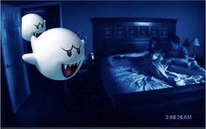 Paranormal Activity Mario by H2oJames93