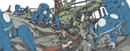 scribble: Ghost in the shell SAC