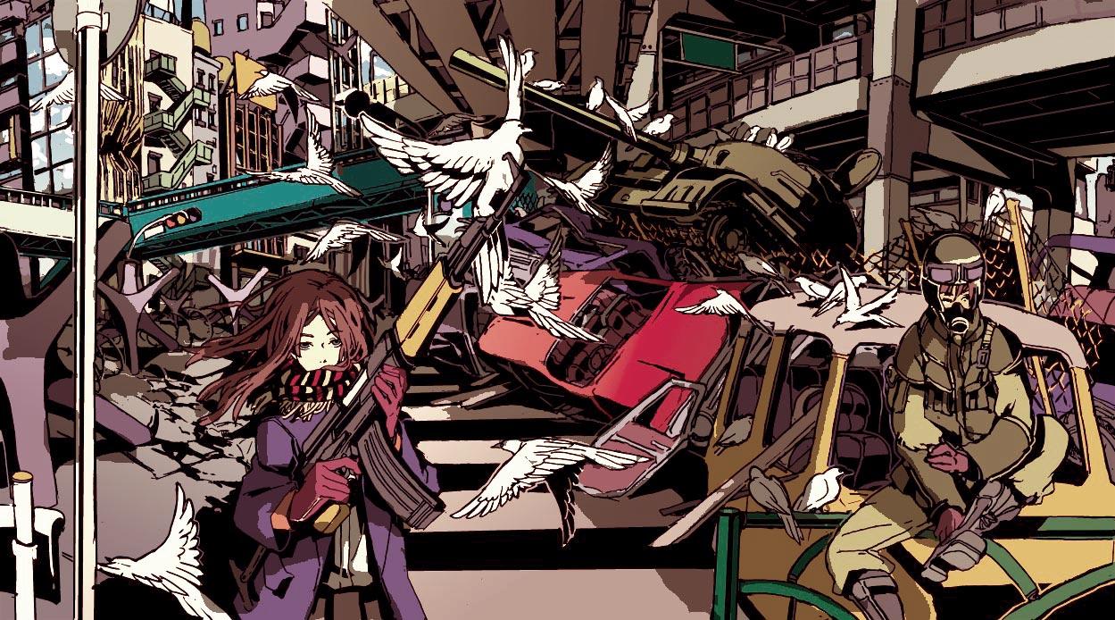 PEACE by hira-geco