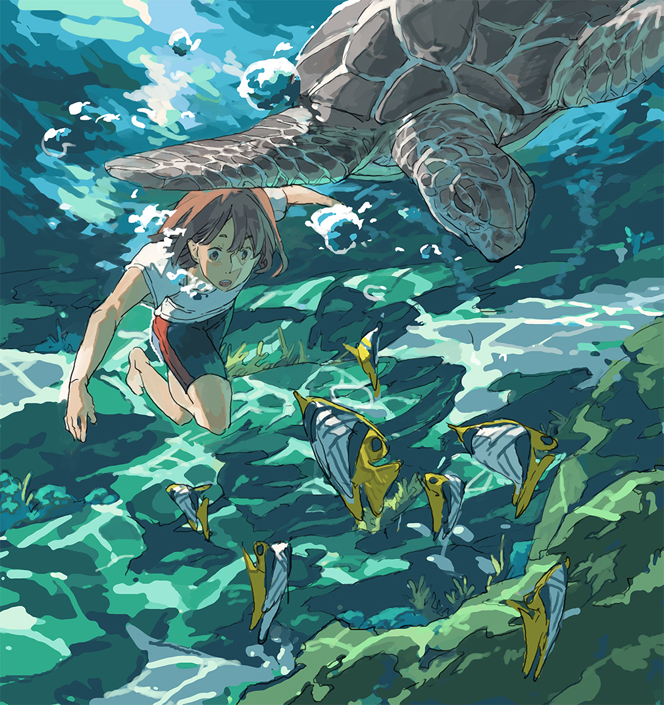 Underwater by hira-geco